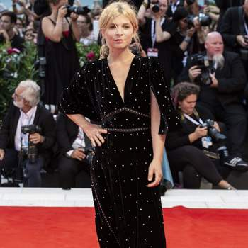 Clemence Poesy walks the red carpet ahead of the 'A star is born' screening during the 75th Venice Film Festival at Sala Grande on August 31, 2018 in Venice, Italy. Photo by Marco Piovanotto/ABACAPRESS.COM Alfombra roja A Star Is Born /cordon press