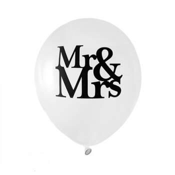 Globos Mr & Mrs Modernos 8 Unidades- Compra en The Wedding Shop