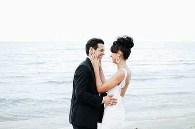 Real Wedding: Eine elegante Strandhochzeit in Thailand!