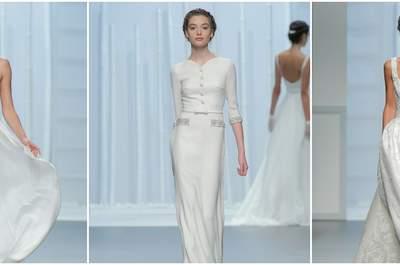 Desfile Rosa Clará 2016: vestidos de noiva lindos na passarela da Barcelona Bridal Week