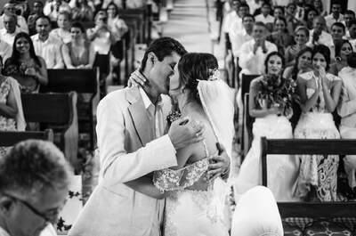 La boda de Mariandrea y Flavio: ¡Un derroche de color y alegría!