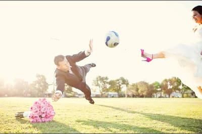 E se o meu casamento cai no mesmo dia que um jogo da Copa do Mundo?