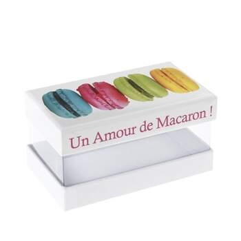 Boite à macarons 2 pièces - Achetez sur The Wedding Shop !