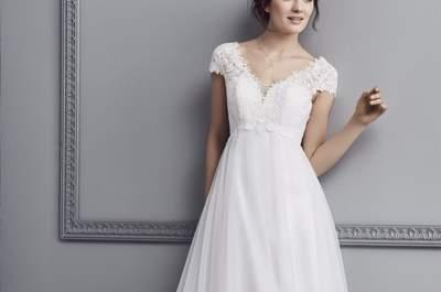 Robes de mariée pour mariage civil : de magnifiques modèles à ne pas laisser échapper