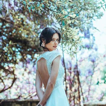 Photo : Guillaume Gilles - Elsa Gary, robe de mariée Il était une fois