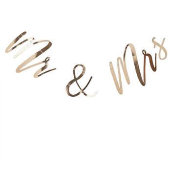 Sr. y Sra. Corona de boda de oro- Compra en The Wedding Shop