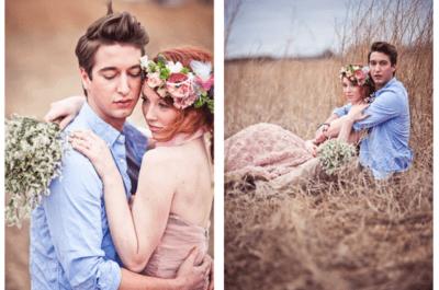 Hochzeitsfotos im Shabby Chic-Stil – ein neuer Trend 2014!