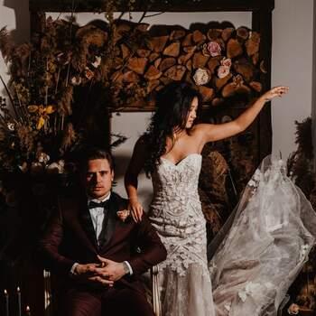 Styled Wedding Shoot: Dark Yes!   Foto: Carola Doornbos
