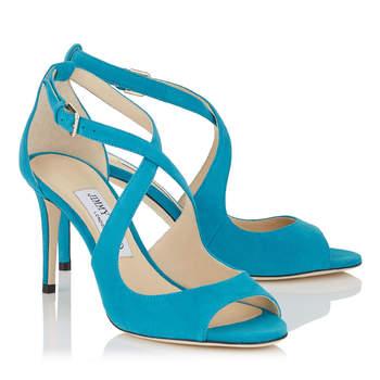 Zapatos de novia de color, los mejores accesorios para contrastar tu vestido de novia