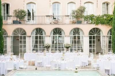 4 tendencias TOP para la decoración de las mesas de boda del 2016