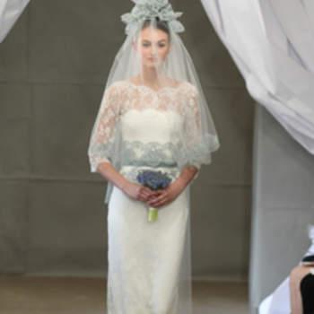 Robe de mariée droite Carolina Herrera 2013