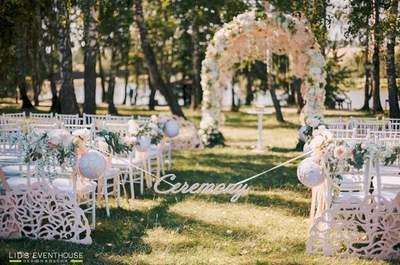 5 оригинальных идей, как украсить свою свадьбу живыми цветами.