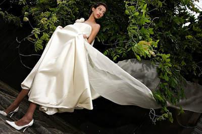 Une tenue de mariée ou d'invitée unique et accessoirisée grâce au créateur Perry Ah Why