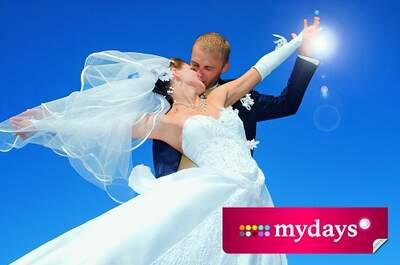 mydays– Verschenken Sie magische Momente zur Hochzeit