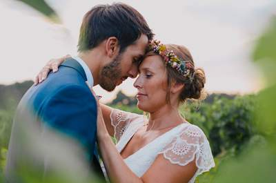 Delphine et Thomas : un mariage bordelais champêtre et chic