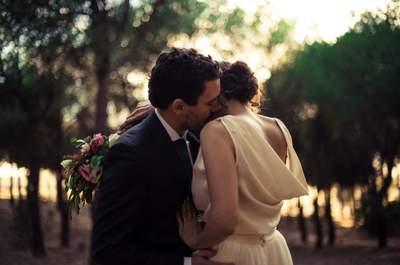 Luminosa, alegre y muy familiar: así fue la boda de Isabel e Iñaki