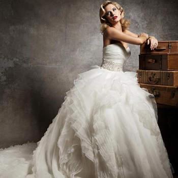 Vestido de noiva Justin alexander 2013 tomara que caia.