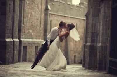 Casarse en un día de lluvia: trucos para llevarlo mejor