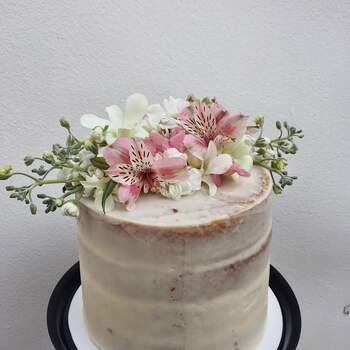 Foto: Hey Sugar Mx - Floral Cake