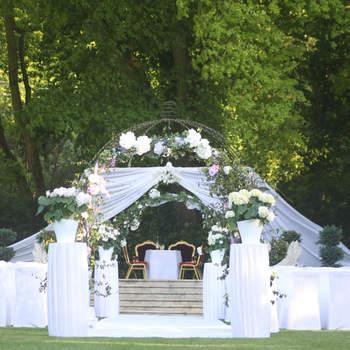 Photo : Le Manoir des Cygnes - Entouré d'un parc de 14 000 hectares, il est un lieu enchanteur au charme romantique.
