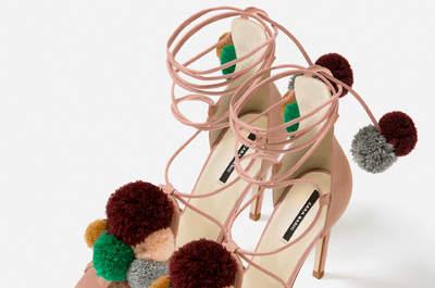 50 schoenen voor de bruiloftgast 2017. Ontdek de spectaculaire designs!