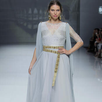 Matilde Cano. Credits_ Barcelona Bridal Fashion Week