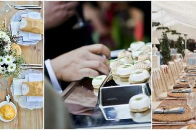 Los 6 mejores catering para bodas en Granada