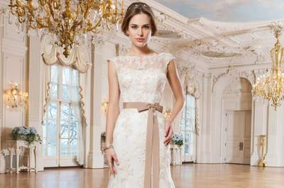 2015 Bridal gowns by Lillian West: The simple luxury of a princess