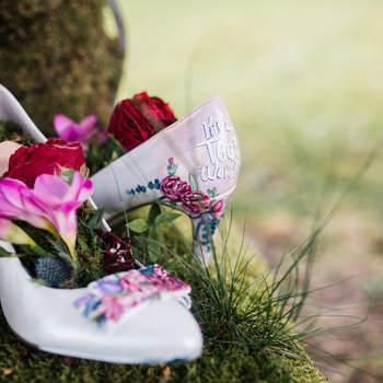 Handbemalte Schuhe - Schuhnique handpainted shoes