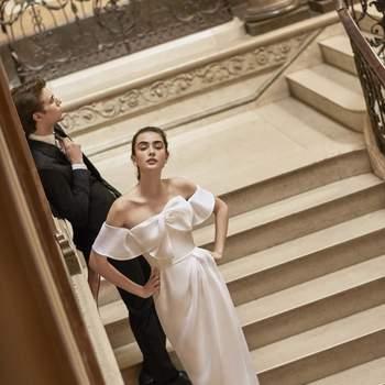 Carolina Herrera 2019. Credits: Barcelona Bridal Fashion Week