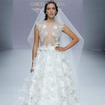 Marco & Maria. Créditos: Barcelona Bridal Fashion Week