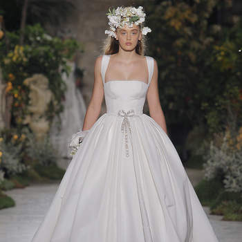 Reem Acra.Créditos: Barcelona Bridal Fashion Week