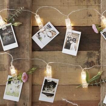 Petites Pinces Lumineuses À Led The Wedding Shop !