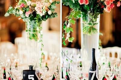 Novedosas ideas para enumerar tus mesas del banquete: la forma más linda y sorprendente