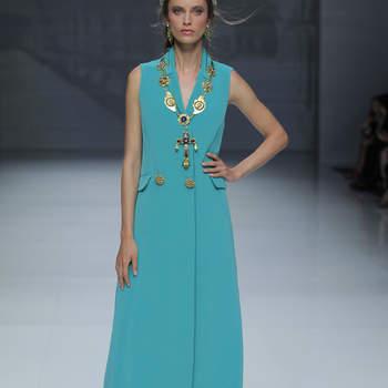 Matilde Cano. Credits_ Barcelona Bridal Fashion Week
