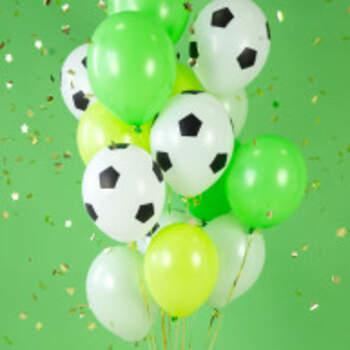 Ballons Ballon Football 6 Pièces - The Wedding Shop !