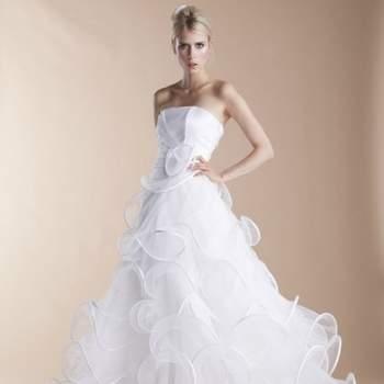 Robe de mariée Suzanne Ermann 2013, modèle Norberte - Photo : Suzanne Ermann