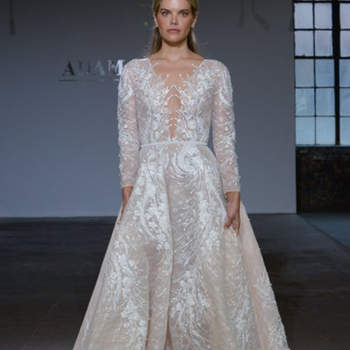 Créditos: Adam Zohar | New York Bridal Week