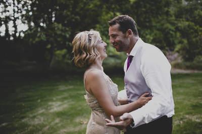 Un amor de altos vuelos: la mágica boda de Cruz y Quique