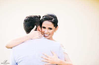 Casamento ao ar livre de Manoela e Caio: amor, descontração e detalhes DIY apaixonantes