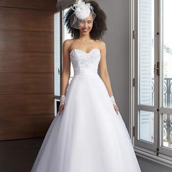 Photo : Robe de mariée Stacy  Bella Créations 2020 - Les Mariées de Talia