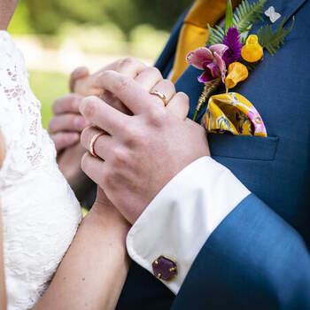 Puur Natuur Bloemen. Foto: Just Weddings NL - Justa van Heertum