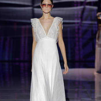 Marylise by Rembo Styling. Credits Barcelona Bridal Fashion Week