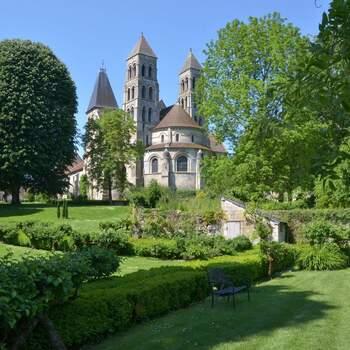 Photo : Abbaye de Morienval