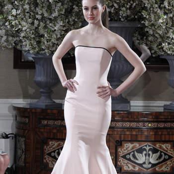 Robe sirène ultra glamour.