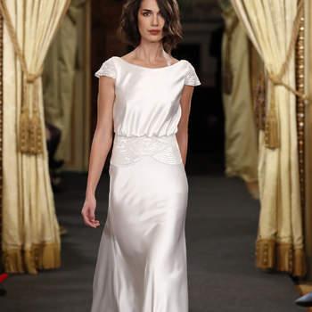 Vestidos de novia cuello barco: ¡Elegancia y sofisticación!