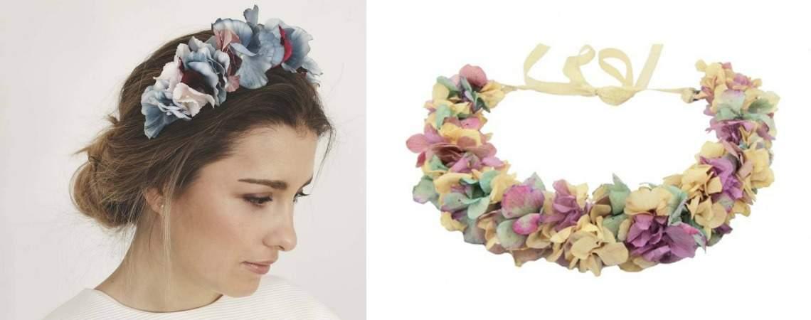 Zauberhafte Blumenkränze 2017 – Romantischer Kopfschmuck für die Braut!