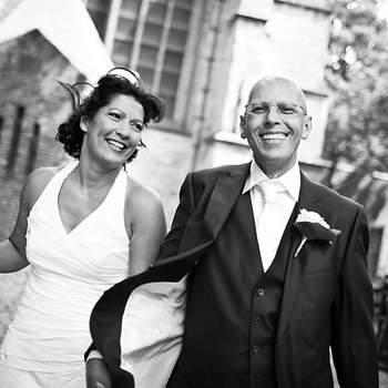 Le noir et blanc a toujours beaucoup d'allure. - Photo : Weddingvision