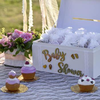Letras Adhesivas En Madera Baby Shower- Compra en The Wedding Shop