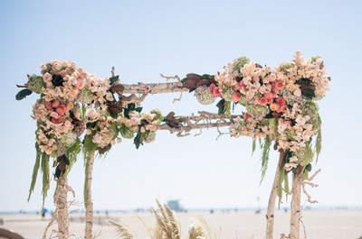 Ideas en decoración para una boda en la playa. ¡Cásate junto al mar!